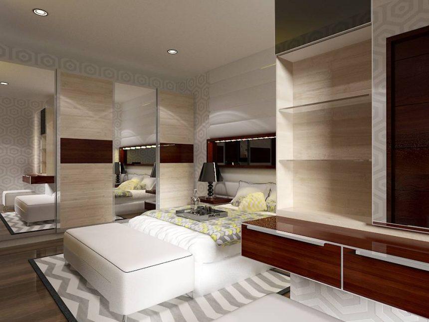 desain interior di apartemen kelapa gading